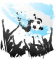 world cup argentina vector image vector image