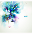 women face vector image vector image