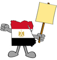 Egypt protest vector image