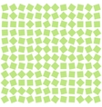 abstract background from green squares vector image