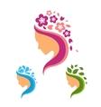 Beauty Logo Set vector image