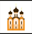 orthodox church flat icon vector image