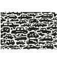 cars doodles vector image