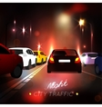 City Traffic Road vector image