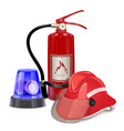 Fire Prevention Concept vector image