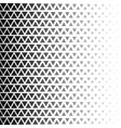 abstract geometric black and white halftone vector image