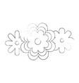 beutiful flower gardening vector image