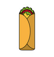 mexican culture related icon image vector image