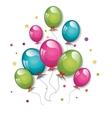 party balloons design vector image