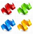 Color serpentine vector image vector image