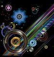 ratchet wheels vector image