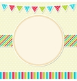 Bright frame vector image vector image