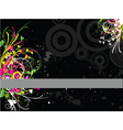 fluorescent grunge vector image vector image