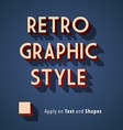 Retro Graphic Style vector image