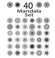 Ethnic Amulet of Mandala vector image