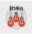Idea graphic vector image