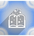 Magic Book icon symbol Flat modern web design with vector image