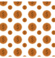 money coins background vector image