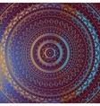 Gold Mandala Indian decorative pattern vector image vector image