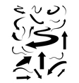 arrows vector image vector image