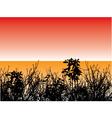 foliage design vector image vector image