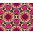 Islamic colorful geometric seamless pattern vector image