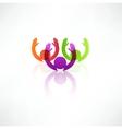 Successful team icon vector image vector image
