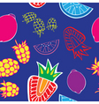 fruity pattern1 vector image vector image