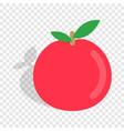 apple isometric icon vector image