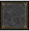 Marble Backgrounds with Gold Frame vector image
