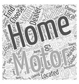 What to Consider When Choosing a Motor Home Dealer vector image