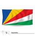 Flag of Seychelles vector image