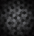 Seamless hexagon pattern abstract background vector image