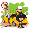 Driving Under The influence vector image