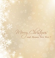 cute Merry Christmas card vector image