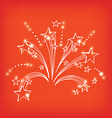 Firework icon sketch design vector image
