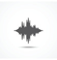 Sound icon vector image