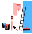 tools for the repair vector image
