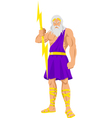 Zeus vector image