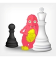 Funny Monster Strategy vector image vector image