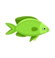 Colorful reef tropical fish vector image