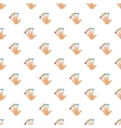 Scanning of finger pattern cartoon style vector image