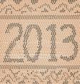 2013 snake skin vector image