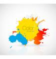 ink droplet vector image