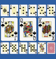 blackjack spades suite french stylexa vector image vector image