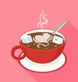 Coffee Sugar vector image