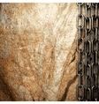 metal and stone background vector image
