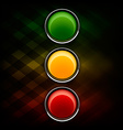 Stoplight vector image vector image