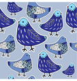 Pigeon pattern vector image