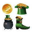 collection st patrick day traditional vector image